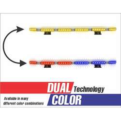 "27"" DUAL COLOR ENFORCER LIGHT BAR"